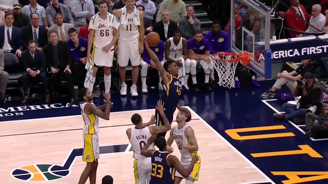 0c0b55fcae2 After watching some season highlights of Donovan Mitchell recently, I was  caught in awe at how unbelievably amazing he is. I guess I must've been  taking it ...