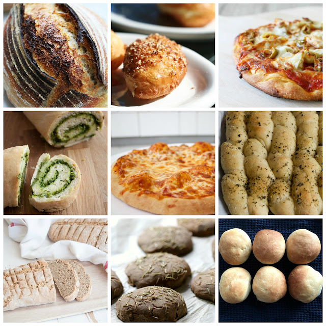 Bread Box Round Up for September 2016 from www.karenskitchenstories.com