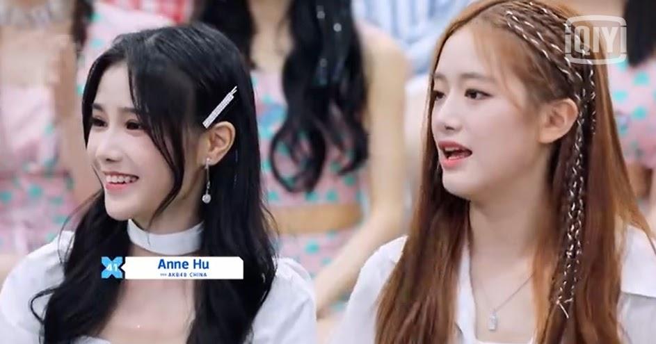 Hu Xinyin AKB48 Team SH dan Su Shanshan BEJ48 Berada dalam Satu Tim