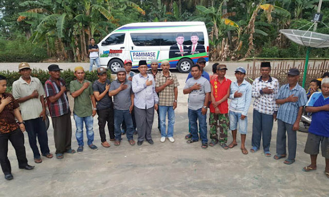 Relawan Eks Kandidat Bupati Kini Menyatu di PAMMASE