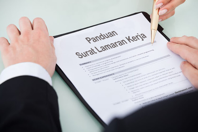 Sukses Melamar Kerja! Contoh Surat Untuk Lamaran Kerja, Bisa Anda Jadikan Acuan
