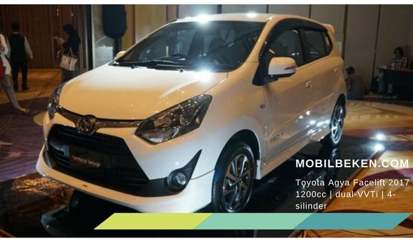 Toyota Agya Facelift 2017 interior
