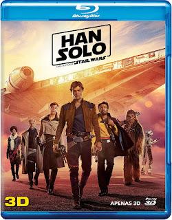 Blu-ray 3D Han Solo: Uma História Star Wars