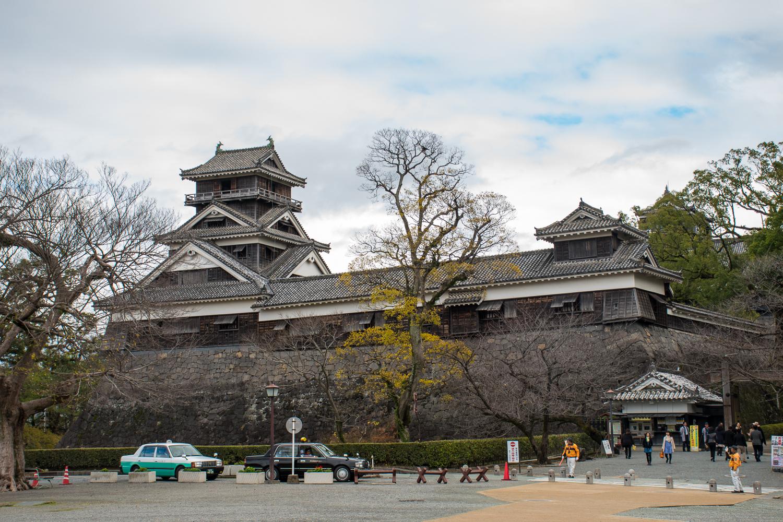 Kumamoto castle entrance Japan