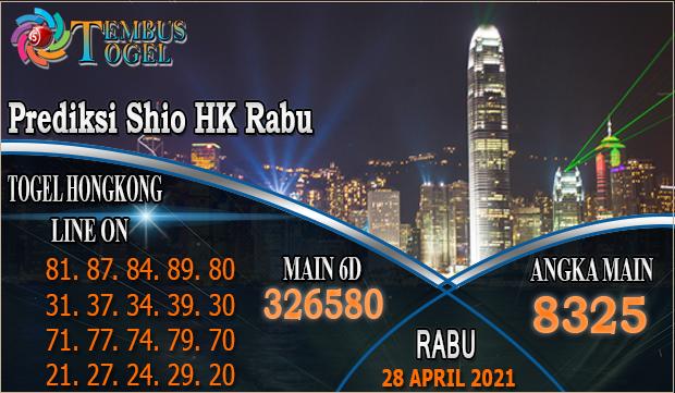 Prediksi Shio Hk Rabu - Tanggal 28 Maret 2021