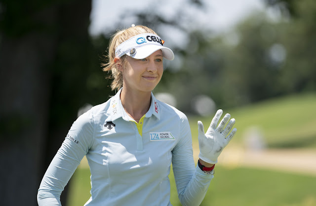 Nelly Korda is one of the rare members of the Solheim Cup sisters club