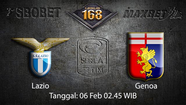 PREDIKSIBOLA - PREDIKSI TARUHAN BOLA LAZIO VS GENOA 06 FEBRUARI 2018 ( ITALIAN SERIE A )
