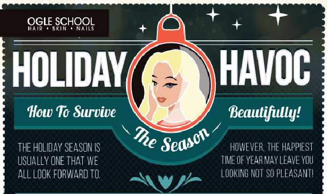 Holiday Havoc: How To Survive The Season Beautifully #infographic