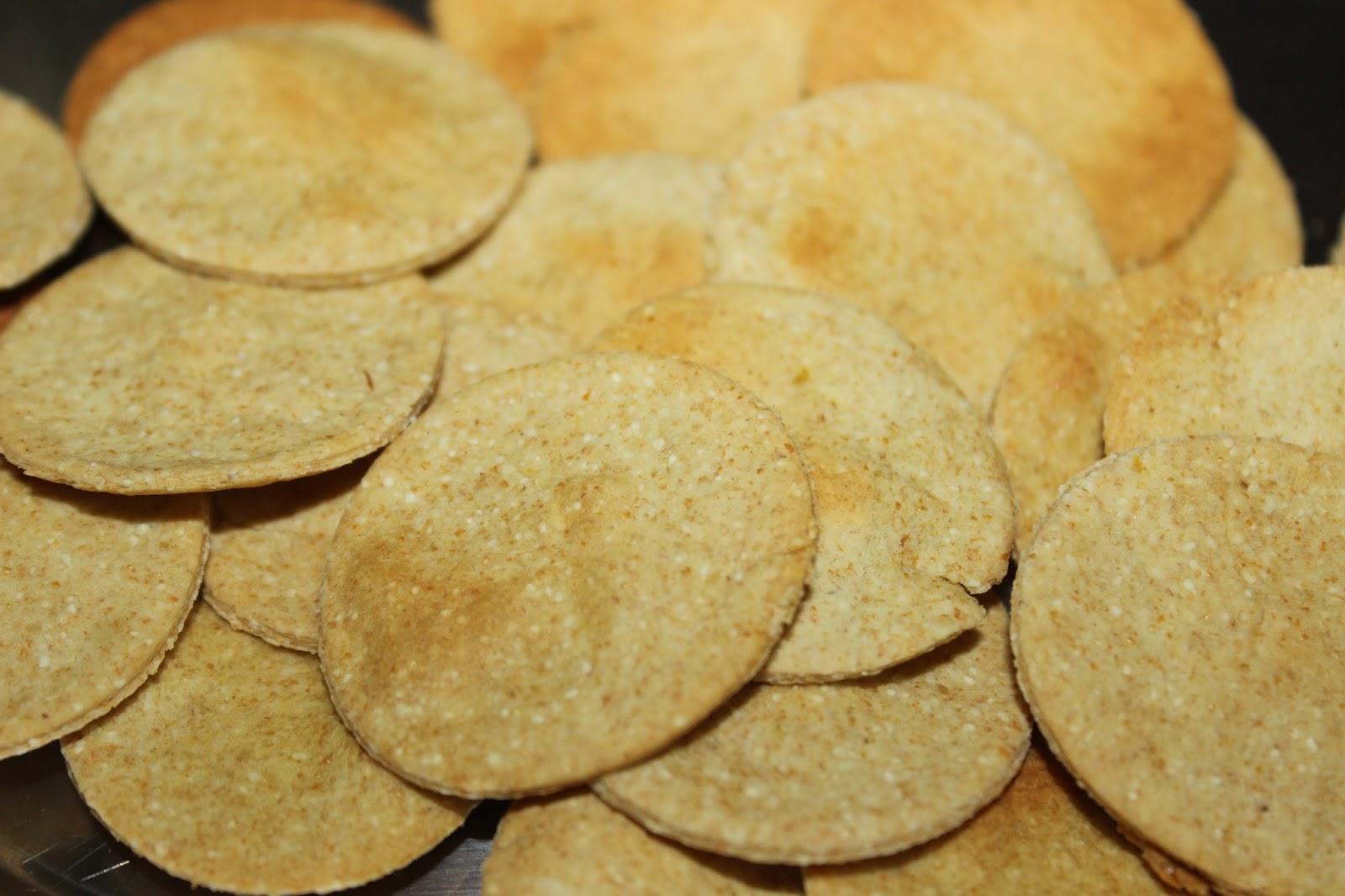 Baked Flat Puri
