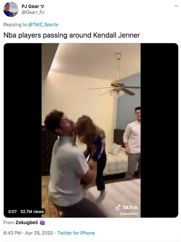 Kendall Jenner's incredible put down as cruel troll says 'NBA players pass her around'