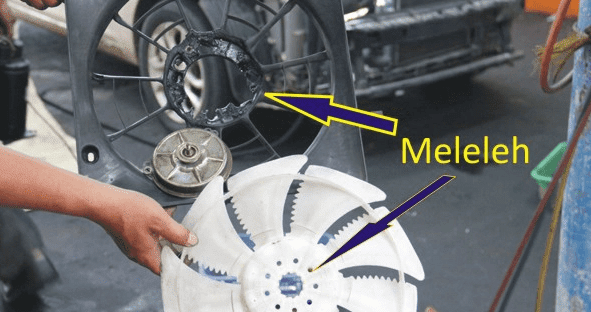 Mengemudi dengan kondisi kipas radiator kendaraan beroda empat yang berisik dan berbunyi tidak normal sanggup  Penyebab kipas radiator kendaraan beroda empat berisik dan suara tidak normal