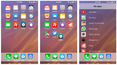 6 Plus iOS Launcher