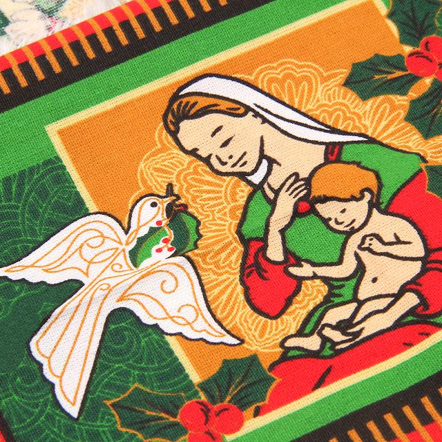 Tecidos de Natal 2021 no Armarinho São José
