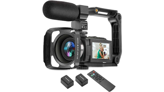 ZUODUN 4K Digital Video Camcorder