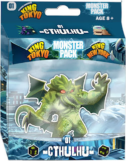King of Tokyo Cthulhu Monster Game Pack board game