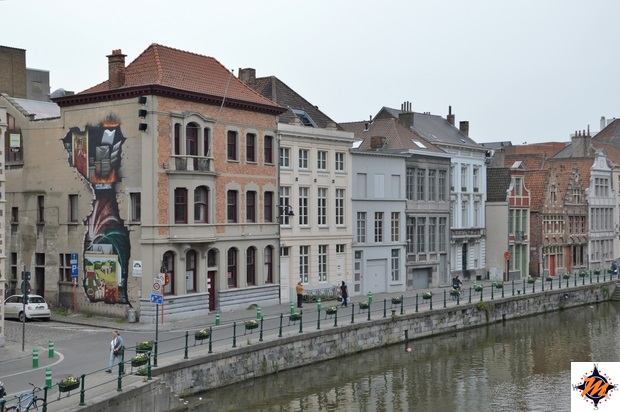 Gent, Concrete Canvas Tour