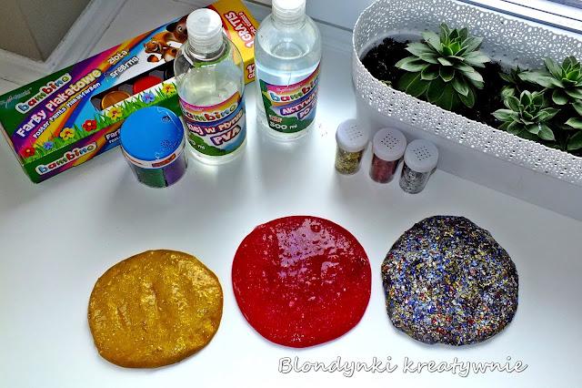 Slime- błyszczące masy sensoryczne PRZEPIS
