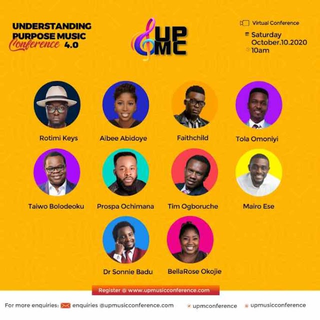 Understanding Purpose Music Conference (UPMC) 4.0 Featuring Sonnie Badu, Faith Child & More   Oct. 10th