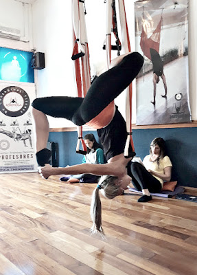 clases yoga aereo