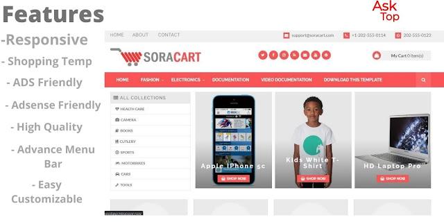 SpotCommerce - Blogger Shopping Template Blogspot.