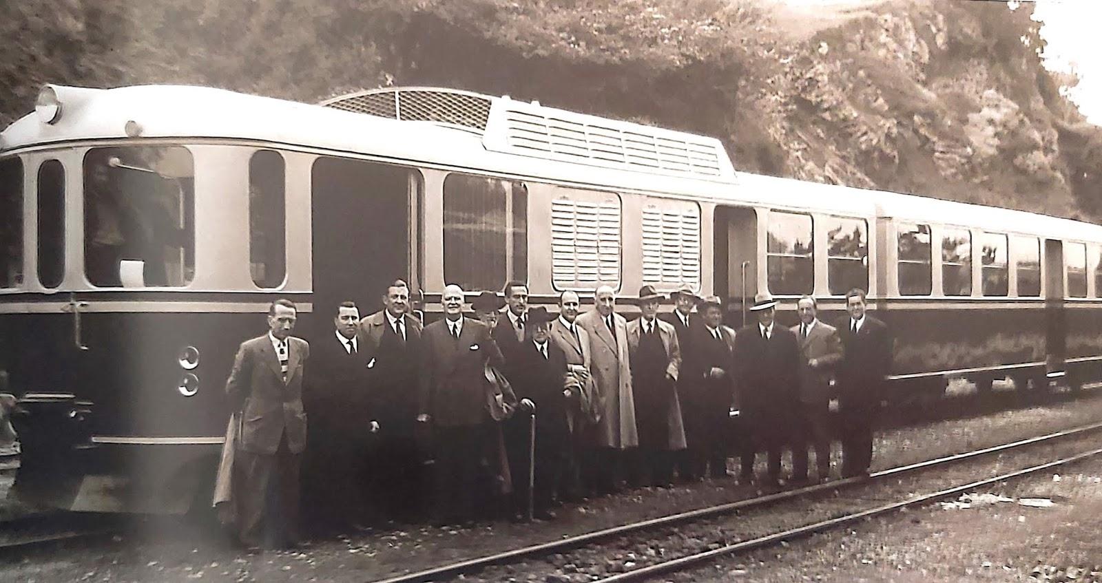 Trenes Y Tiempos Cronicas De La Via Estrecha Xcviii De Oviedo A Llanes En Los Ferrocarriles Economicos De Asturias Y Ii La Epoca Diesel
