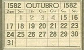 calendario gregoriano mudanca