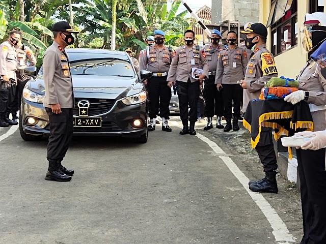 Wakapolda Lampung Kunjungi Polres Tanggamus