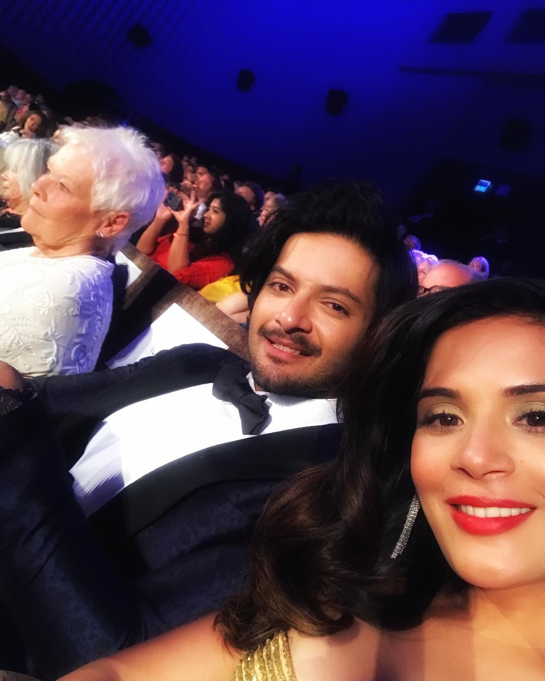 Ali Fazal and Richa Chadha together at the Venice Film Festival