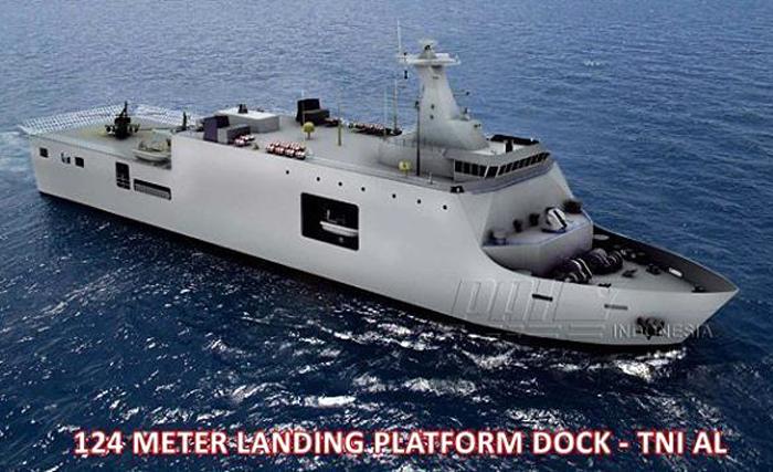 Desain LPD 124M PT PAL (PT PAL Indonesia)