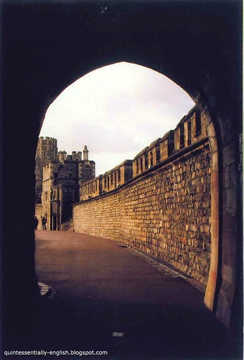 Archway of Windsor Castle, England