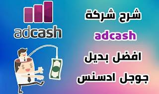 شرح شركة adcash افضل بديل جوجل ادسنس موقع اد كاش