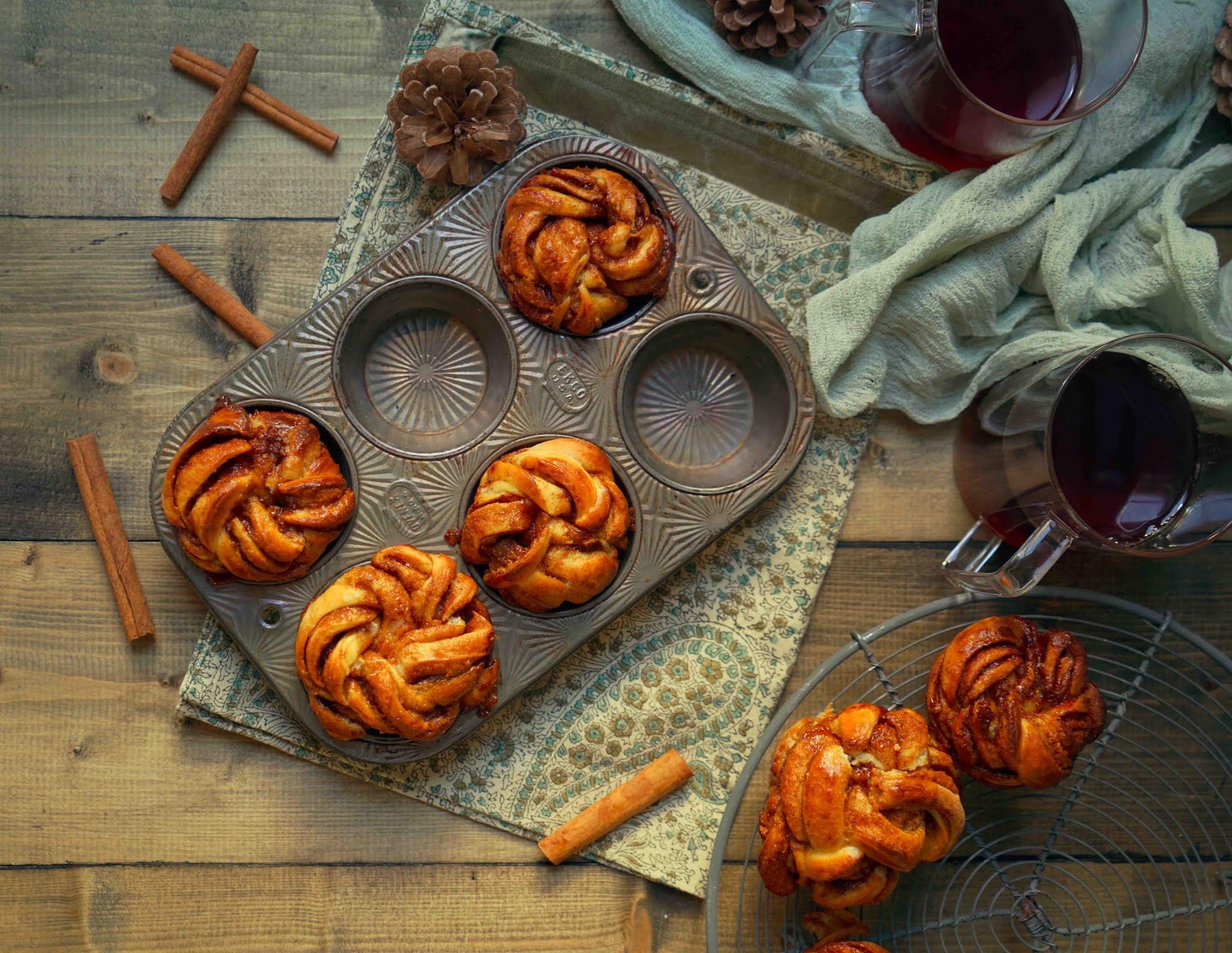 recette scandinave , brioches danoises