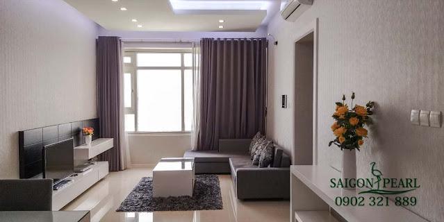 Phòng khách căn hộ Saigon Pearl cho thuê