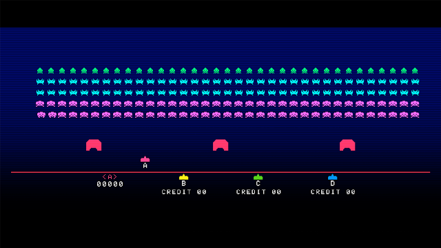 Space Invaders Forever - Space Invaders Gigamax 4 SE