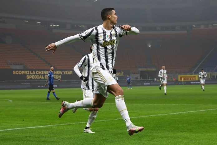 Ronaldo Scores Brace In Juve Comeback Win Over Inter