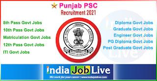punjab-psc-recruitment-ppsc-indiajoblive.com
