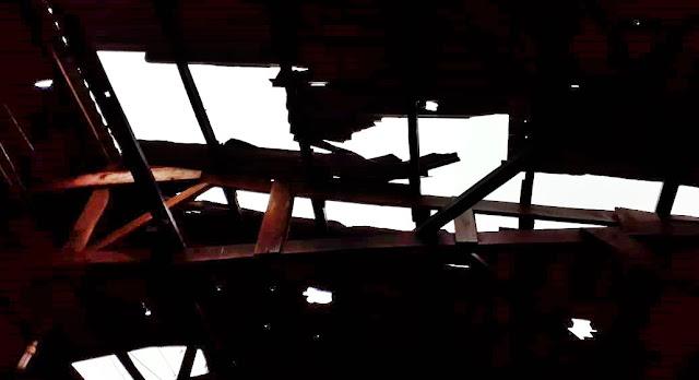 Roncador: Chuva com ventos fortes causa estragos em Alto São João