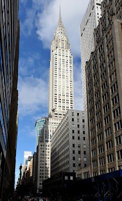 El edificio Chrysler en Nueva York