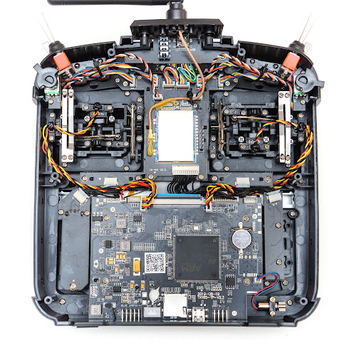 A view of the electronics