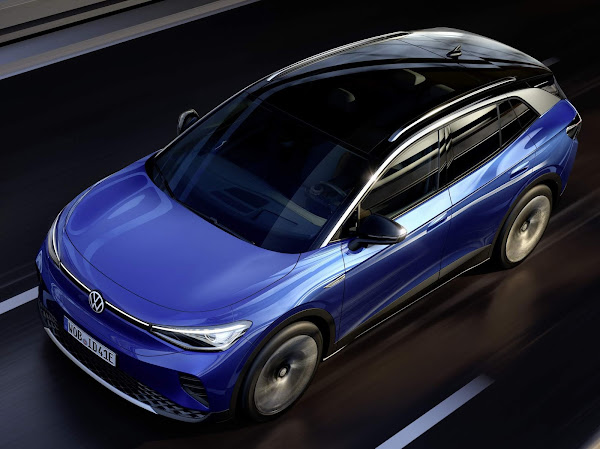 VW ID.4 - SUV elétrico registra 250 milhas de autonomia