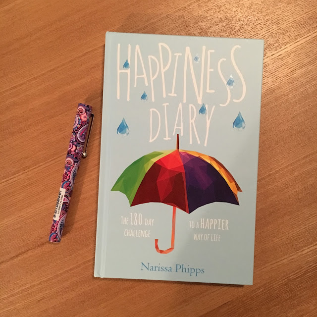 Happiness Diary, by Narissa Phipps Review