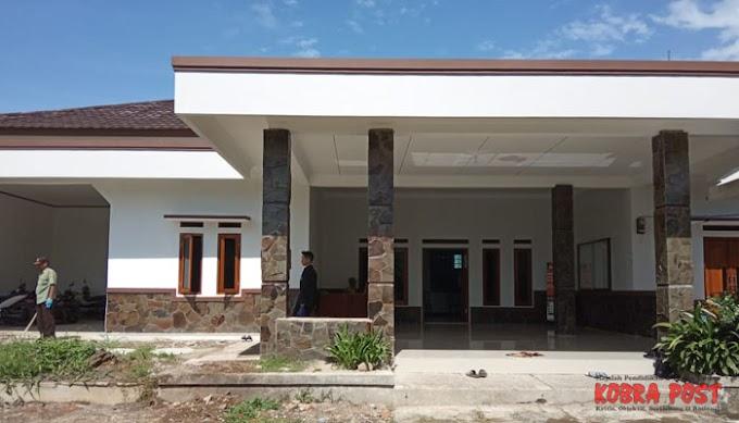 Renovasi Kantor Desa Ciampea Udik Telah Rampung
