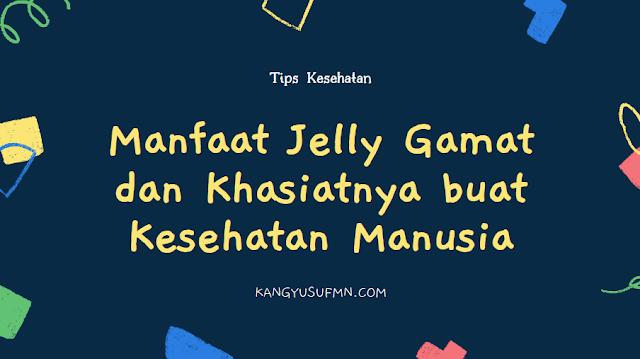 Manfaat Jelly Gamat dan Khasiatnya buat Kesehatan Manusia