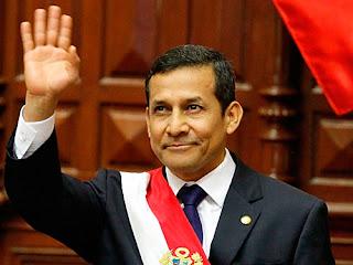 Presiden Peru: Ollanta Humala
