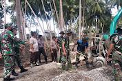 Satgas TMMD Ke 111 Kepulauan Selayar Kebut Rampungkan Jembatan Tola