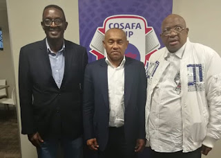 Ahmad CAF President And COSAFA Vice President