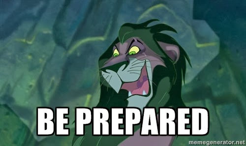 Image result for be prepared scar meme