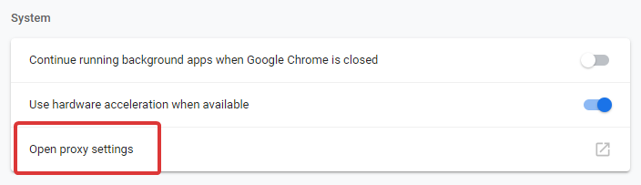 Chrome Downloading Proxy Script