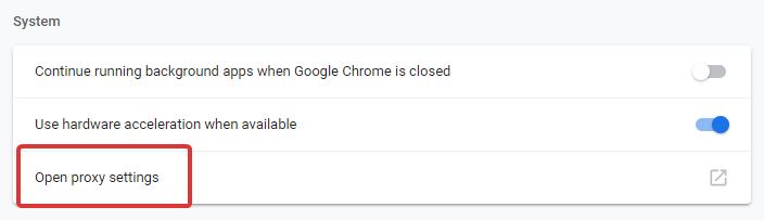 Chrome Downloading Proxy Script