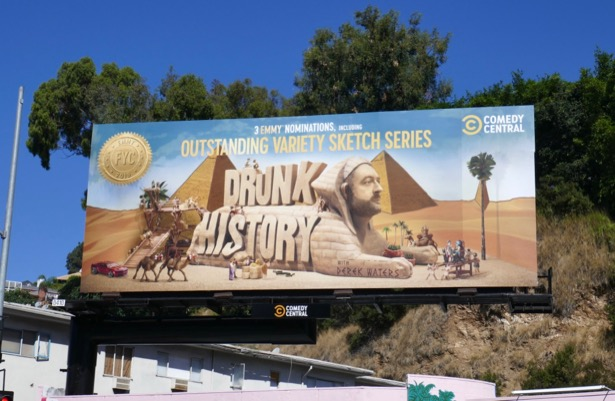 Drunk History season 6 Emmy nominee billboard